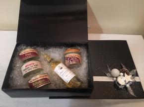 La ferme d'Enjacquet - Coffret Cadeaux : foie gras, canard, Jurançon, 100% Gers