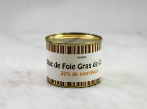 Terres d'Adour - Bloc De Foie Gras De Canard Conserve