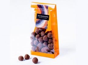 Les Filles de Beauregard - Les Craquantes - Noisettes Enrobées De Chocolat Noir