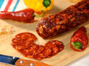 Charcuterie Montauzer - Chorizo basque - environ 550 g