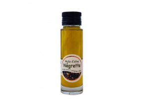 Les amandes et olives du Mont Bouquet - Huile d'olive Négrette 10 cl