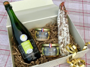 Ferme Les Barres - Coffret De Noël Tradition cochon