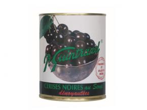 Conserves Guintrand - Cerises Noires De Provence Dénoyautées Au Sirop - Boite 4/4
