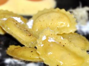 Les Pâtes Côté Mont Blanc - Ravioli Truffe Parmesan