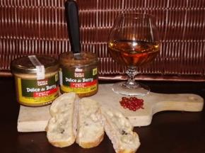Ferme du caroire - Tartinable Délice du Berry au chevreau et piment doux