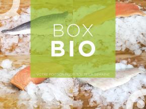 Qwehli - Box Bio Bar Bio - Daurade Bio - Saumon Bio - Truite Bio