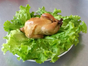 Les Volailles Fermières de Chambon - Cailles Entières Vendues Par 6 (1050 gr)