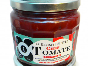 "OORAIN La Marmelade Française - Marmelade : Tomates Rouge ""relish Chef"""