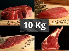 Le Goût du Boeuf - Colis Sélection Aubrac 10kg