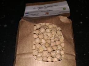 """Les Délices du Scamandre - Pois Chiches """"Gros Blanc"""" Bio - 1kg"""