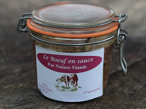 Nature viande - Domaine de la Coutancie - Boeuf en sauce 500g