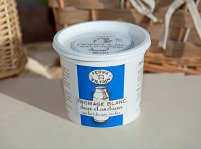 La Ferme de Viltain - Fromage Blanc Lisse 0%