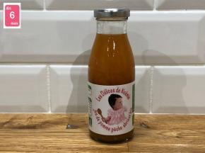 Les délices de Noémie - Jus De Pomme Pêche Abricot Bio pour bébé 6x25cl