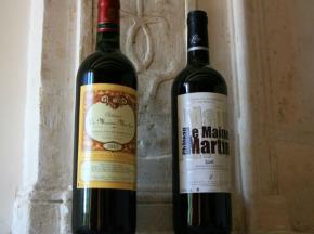 Château des Plassons - 6 Château Le Maine Martin 2015 : 3 Sélection Vieilles Vignes Et 3 Cuvée Nouvelle Génération