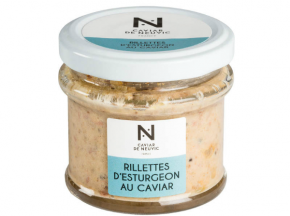 Caviar de Neuvic - Rillettes D'esturgeon Au Caviar Et Baies Roses