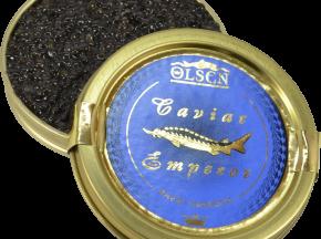 Olsen - Caviar Baeri Imperial 500g Origine Aquitaine France Acipenser Barii (esturgeon de Sibérie)