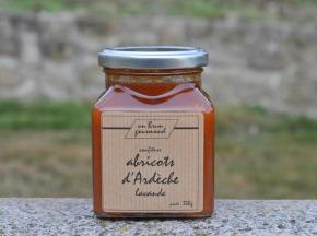 Un brun gourmand - Confiture D'abricot Lavande
