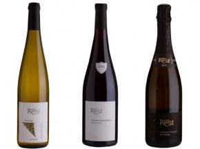 Domaine Rieflé-Landmann - Lot De 3 Bouteilles- Crémant D'alsace, Lieu-dit Strangenberg Pinot Noir 2018, L'arabesque 2018