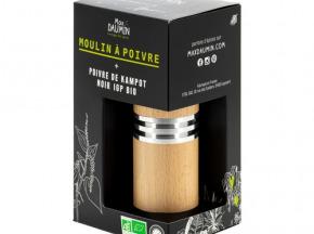 Epices Max Daumin - Moulin À Poivre + Poivre De Kampot Bio & Igp