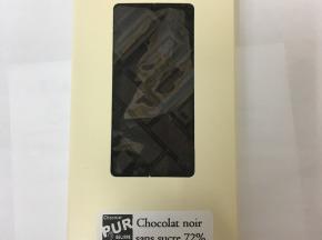Les Confiseries du Grand Large - Chocolat Noir Sans Sucre 72 %