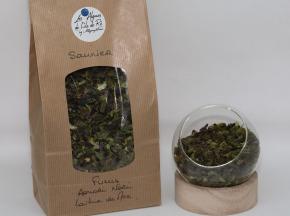 Les Algues de l'Île de Ré - Sachet Découverte Paillettes Mélange Saunier - Fucus, Laitue De Mer, Aonori, Nori - 10g