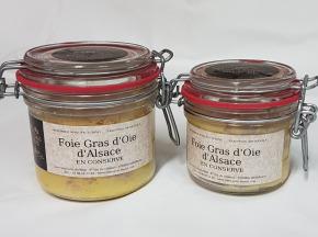 Les foies gras du Ried - Foie Gras D'oie d'Alsace - Série Limitée - 300g
