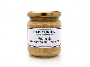 L'Epicurien - MOUTARDE AUX HERBES DE PROVENCE