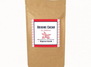Maison Castelanne Chocolat - Tablette Equateur - Esmeraldas 75% - Fèves Origine Bio