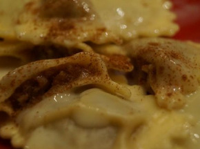 Lioravi, l'authentique pâte fraîche ! - 6 X 250G Raviolis Sucrés Poire Tapée Amande Ultra Frais