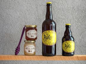 Ferme Brasserie la Bonne Fontaine - Bières Blondes De  Haute Provence Au Miel 75cl (x6)