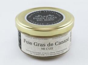 Les foies gras du Ried - Verrine Semi Conserve De Foie Gras De Canard 200g