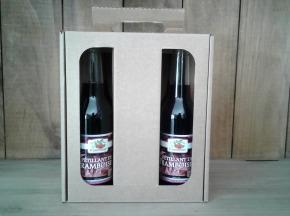 Le Domaine du Framboisier - Pétillants de Framboise Sans Alcool (6 x 27,5 cl)