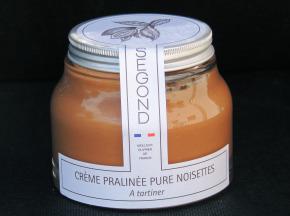 Philippe Segond MOF Pâtissier-Confiseur - Pâte À Tartiner Pralinée Pure Noisettes Sans Huile De Palme