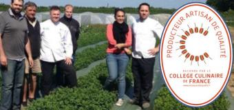 Les producteurs du Collège Culinaire de France