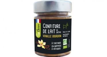 Fromagerie Seigneuret - Confiture De Lait De Chèvre Vanille Bourbon Bio- 180g