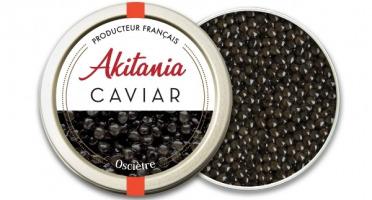Akitania, Caviar d'Aquitaine - Caviar D'aquitaine Akitania Oscietre 100g