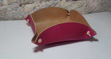 Sillage Maroquinerie - Corbeille à Pain - Fushia