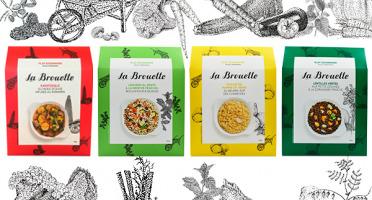 La Brouette - Pour 8 Pers. - Ratatouille + Légumes Al Dente + Ecrase De Pomme De Terre  + Lentilles Vertes