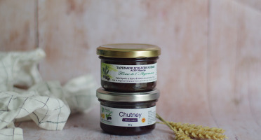 La Ferme de l'Ayguemarse - Tapenade et Chutney d'olives Noires de Nyons AOP