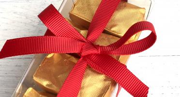 Déclinaison Chocolat - Marrons Glacés En Coffret Cristal De 5
