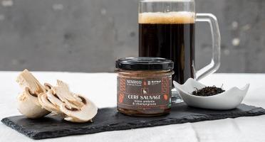 Nemrod - Terrine Cerf Bière Ambrée et Champignons de Paris - 100 g