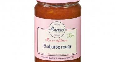 Muroise et Compagnie - Confiture de Rhubarbe Bio - 350 gr