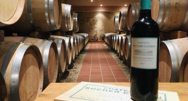 Château Rocher Corbin - AOC Montagne-Saint-Emilion - Château Rocher Corbin 2018 - 3 Bouteilles