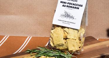 Les Niçois - Mini-focaccia De Tata Rita 200g