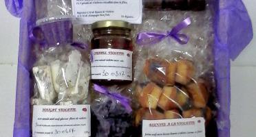 Les délices du Ti'Pierre - Panier  Violette