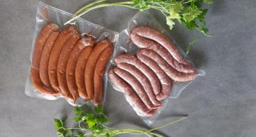 La Ferme du Vayssaïre - [Spécial barbecue] 6 Chipolatas, 6 merguez et 4 tournedos de boeuf Aubrac