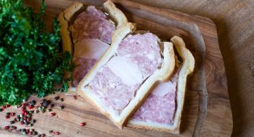 Ferme de Montchervet - Pâté En Croûte X 2 Tranches, 230g