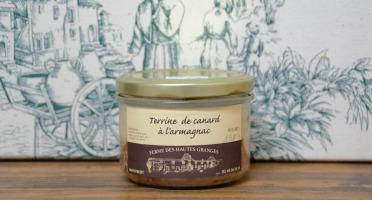 Ferme des Hautes Granges - Terrine de Canard à l'Armagnac - 190 g