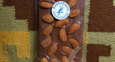 Pâtisserie Kookaburra - Tablette Chocolat Au Lait 42% & Amandes