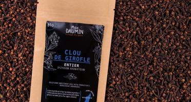 Epices Max Daumin - Clou de Girofle entier Bio